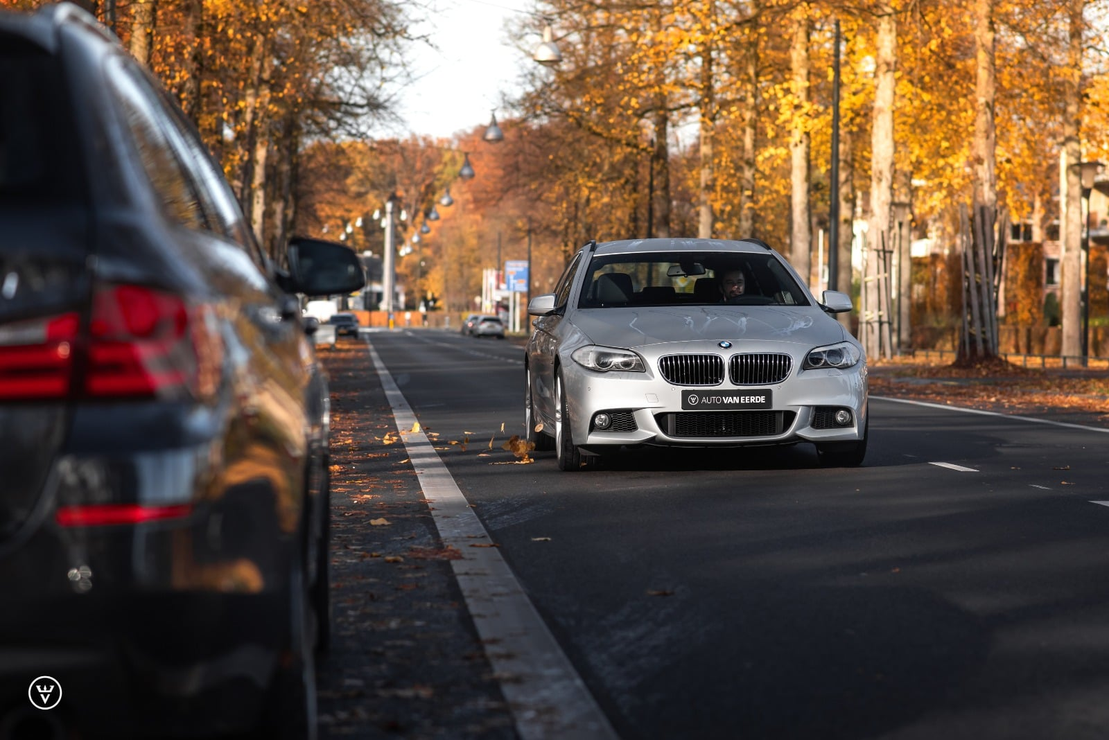 BMW 5 serie touring grijs