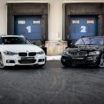 2x BMW 335i touring f31 vs e93