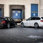 2x BMW 335i touring