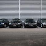 4x BMW 5-serie met 6 cilinder
