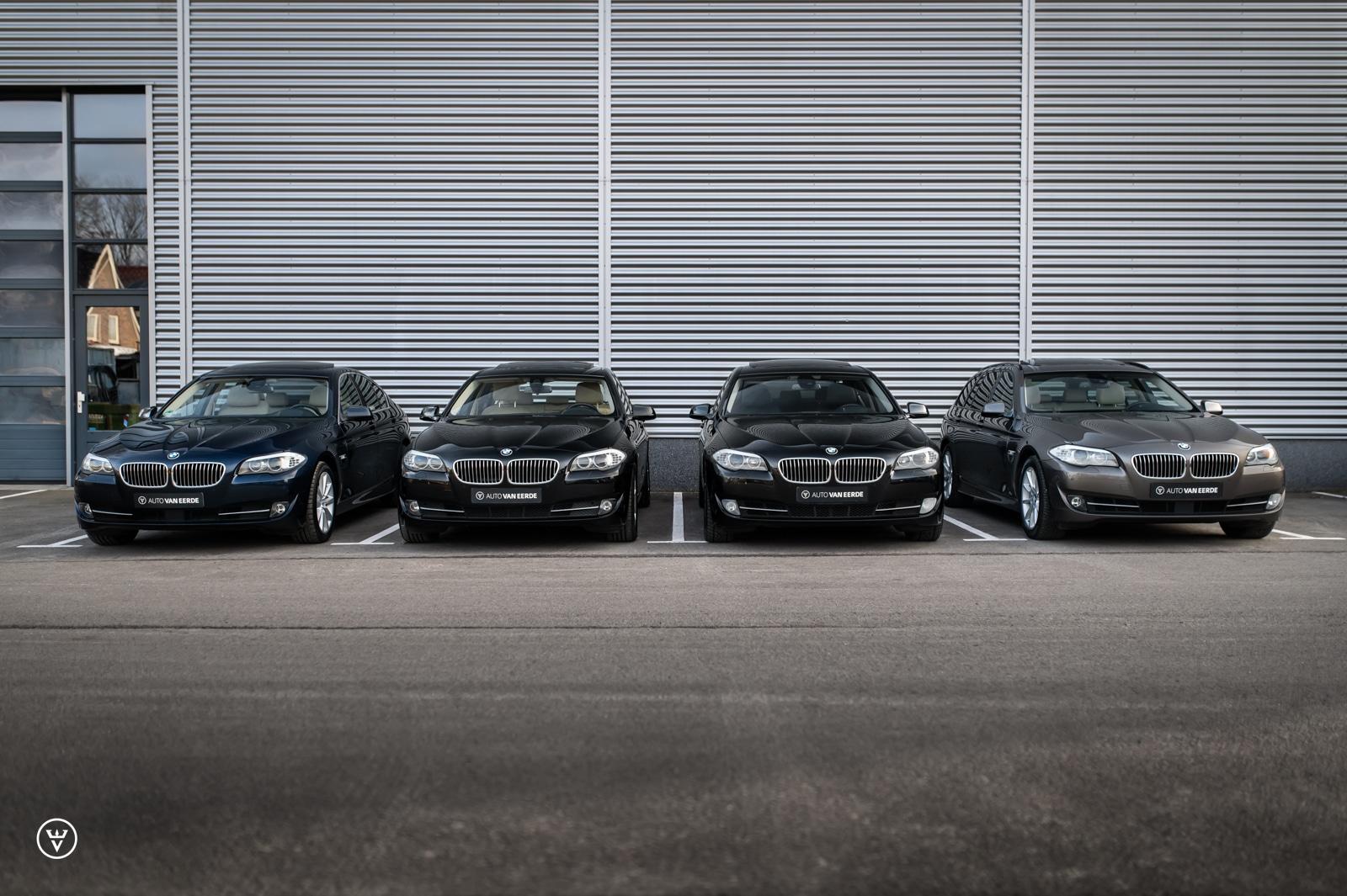 4x BMW 5-serie met 6 cilinder | BMW 5-Serie kopen met garantie