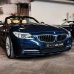 BMW Z4 23i tiefsee blau