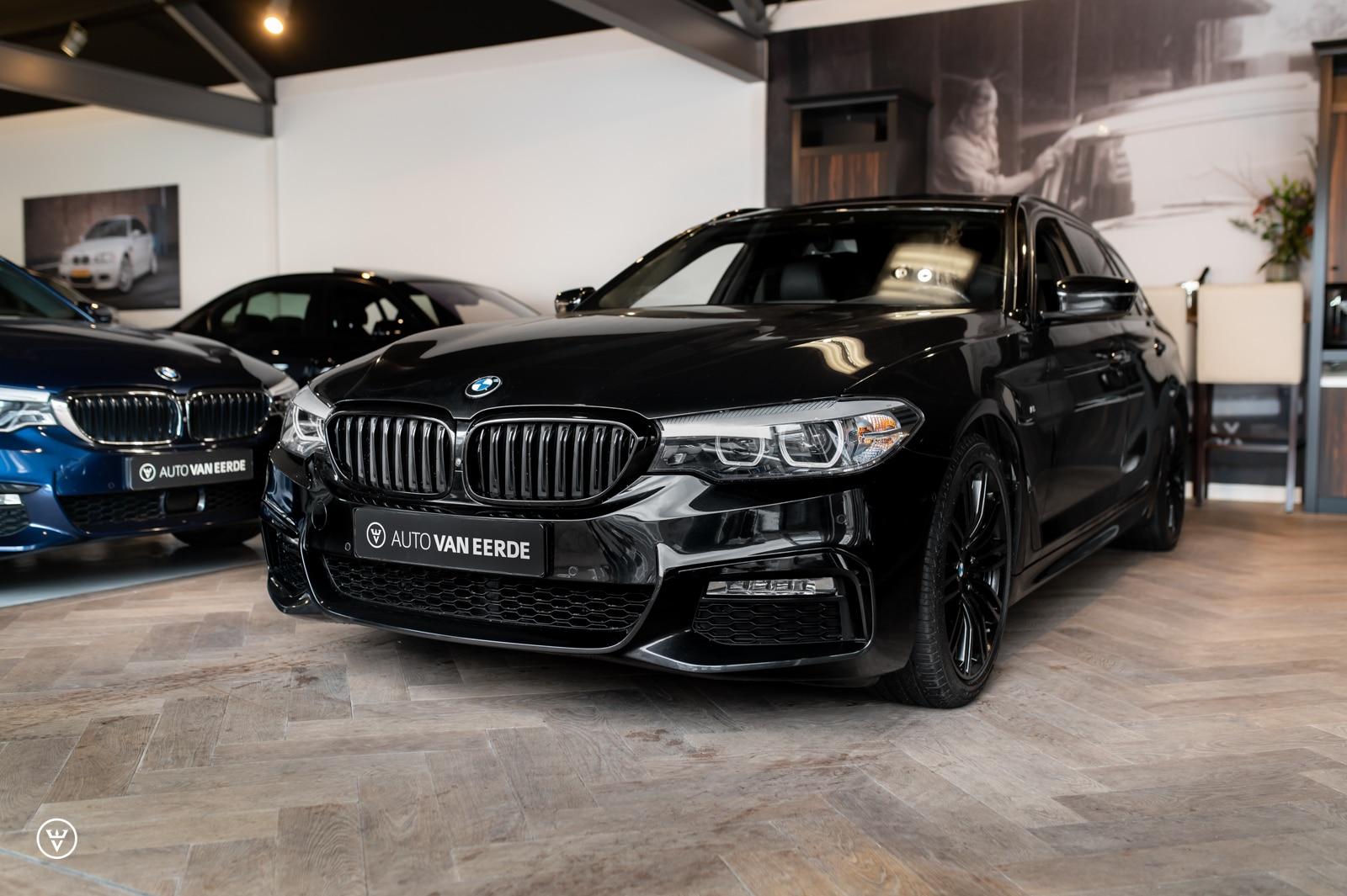 BMW 540i xDrive zwart