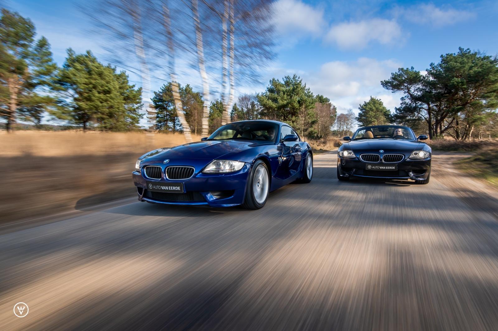BMW Z4 M coupe en roadster