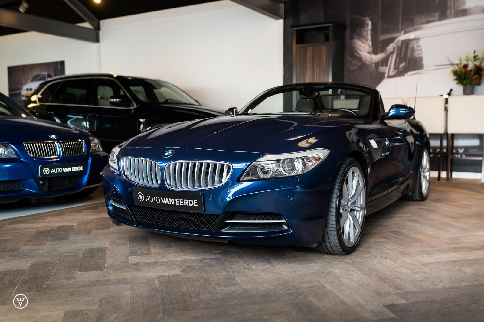 BMW Z4 23i blauw