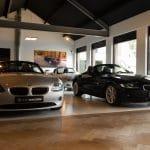 BMW Z4 in de showroom AUTO van Eerde