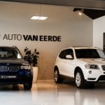 BMW x3 in showroom